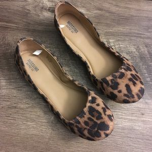 Mossimo cheetah flats